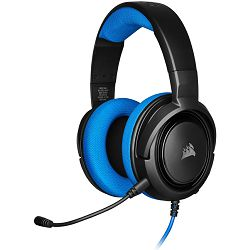 Slušalice Corsair HS35 STEREO, Gaming, PC/PS4/XBOX One/Nintendo Switch, plave