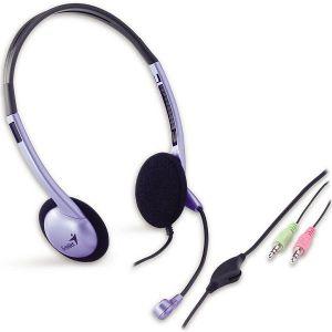 Slušalice Genius HS-02B, mikrofon, 3,5 mm