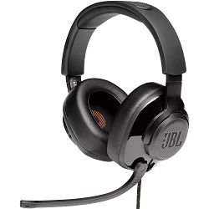 Slušalice JBL Quantum 300, gamiing, žične, 3.5mm/USB, crne