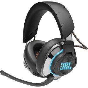 Slušalice JBL Quantum 800, bežične, bluetooth, gaming, ANC, mikrofon, over-ear, RGB, crne, PC, PS4, Xbox One, Nintendo Switch