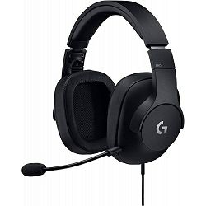 Slušalice Logitech G Pro Gaming, mikrofon, Black