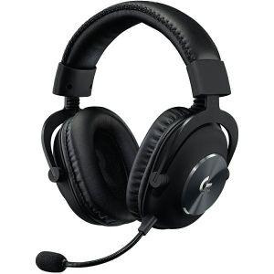 Slušalice Logitech G Pro X Lightspeed, bežične, gaming, 7.1, mikrofon, over-ear, crne, PC