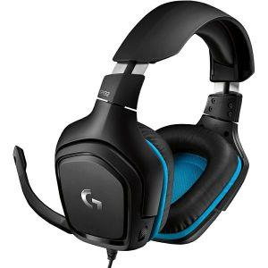 Slušalice Logitech G432, žičane, gaming, 7.1, mikrofon, over-ear, PC, PS4, Xbox, Switch, crno-plave - PROMO