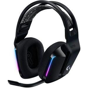 Slušalice Logitech G733, gaming, mikrofon, bežične, crne - PROMO