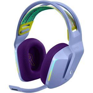 Slušalice Logitech G733, gaming, mikrofon, bežične, lilac - PROMO