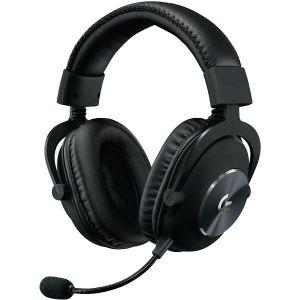 Slušalice Logitech Pro, žičane, gaming, mikrofon, over-ear, crne, PC, PlayStation 4, Xbox One, Nintendo Switch