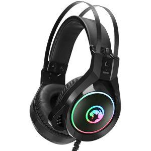 Slušalice MARVO SCORPION HG8901, mikrofon, RGB, crne