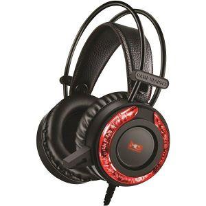 Slušalice MS ICARUS C305, žične, gaming, crno/crvene