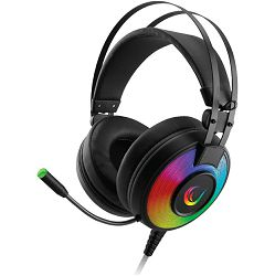 Slušalice Rampage Alpha-X RGB s mikrofonom, 7.1 Surround Sound, PC/PS4/Xbox, USB