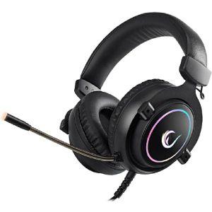 Slušalice RAMPAGE RM-K11 X-Nova, mikrofon, RGB, 7.1 Surround Sound, PC/PS4/Xbox One, crne - MAXI PONUDA