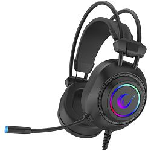 Slušalice RAMPAGE RM-K19 Raging Plus, mikrofon, RGB, 7.1 Surround Sound, PC/PS4/PS5, USB