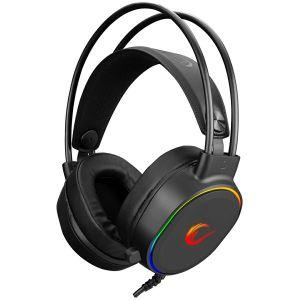 Slušalice RAMPAGE Rogue, mikrofon, RGB, PC/PS4/PS5, USB, crne