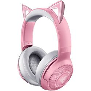 Slušalice Razer Kraken Kitty Quartz, Bluetooth, roze, RZ04-03520100-R3M1