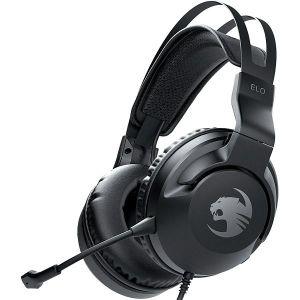 Slušalice ROCCAT Elo X Stereo, žične, PS5, PS4, Xbox One, Xbox Series X, Nintendo Switch, crne