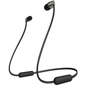 Slušalice Sony WI-C310B, in-ear, Bežične, Crne
