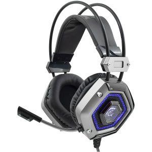 Slušalice White Shark GH-1841 LION, gaming, mikrofon, crno-srebrne - MAXI PONUDA