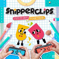 Snipperclips Cut It Out Together Switch