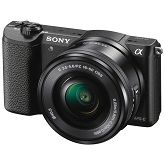 SLR fotoaparat Sony ILCE-5100LB 24,3MP, 16-50mm kit , APS-C, CMOS