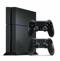 Sony PlayStation 4 console PS4 1TB incl. 2x controller black