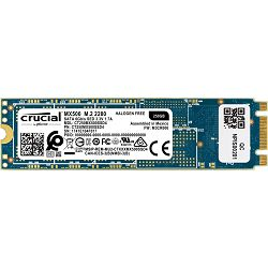 SSD Crucial MX500, 250GB, M.2 SATA III 6 Gbit/s, R560/W510 MB/s - MAXI PONUDA