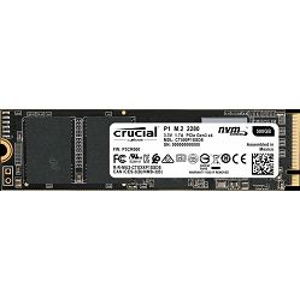 SSD Crucial P1 1000GB 3D NAND NVMe PCIe M.2 SSD