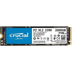 SSD Crucial P2 2000GB 3D NAND NVMe PCIe M.2