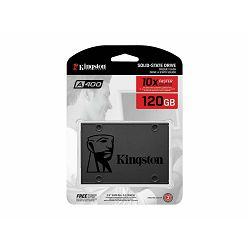 SSD Kingston A400, R500/W450,120GB, 7mm, 2.5