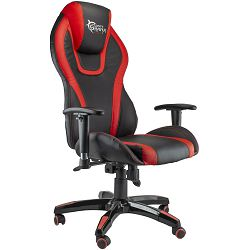 Stolica White Shark COBRA GAMING Crno/Crvena
