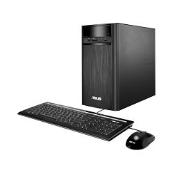 Stolno računalo Asus K31AN-WB002T, Windows 10 Home 64-bit,Intel Pentium J2900 2,40GHz,1x4GB DDR3 1600MHz,Intel HD Graphics,HDD 500 GB,DVD±RW DL,10/100/1000 Mbit,Mini Tower,65W externi adapter