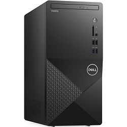 Stolno računalo Dell Vostro 3888 MT, Intel Core i5 10400 up to 4.3GHz, 8GB DDR4, 256GB NVMe SSD, Intel UHD Graphics 630, DVD, WLAN, Linux, 3 god