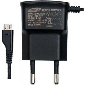 Strujni punjač Samsung Travel Adapter, 700mA, Micro USB, Crni
