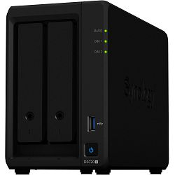 Synology DS720+ DiskStation 2-bay All-in-1 NAS server, 2.5