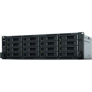 Synology RS4021xs+ RackStation 16-bay NAS server, Intel Xeon D-1541, 16GB DDR4 ECC, Hot-Swap HDD, 4×G-LAN/2×10GbE, Wake on LAN/WAN, Redundant Power Supply