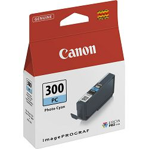 Tinta Canon PFI300, foto cijan