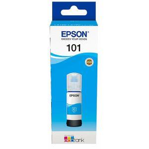 Tinta Epson 101 EcoTank Cyan ink bottle