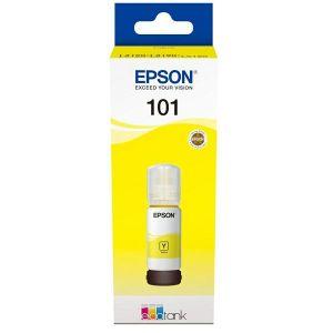Tinta Epson 101 EcoTank Yellow ink bottle