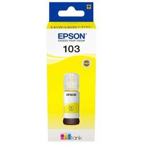 Tinta Epson 103 EcoTank Yellow ink bottle L3151/L3156/L1110/L3110/L311