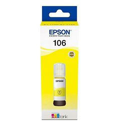 Tinta Epson 106 EcoTank Yellow ink bottle L7160/L7180