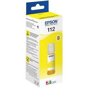 Tinta Epson 112 EcoTank Pigment, žuta