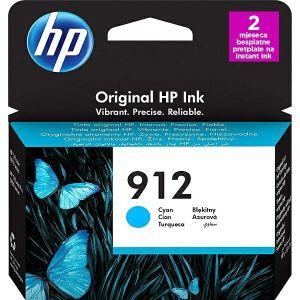 Tinta HP 3YL77AE, No.912, cyan