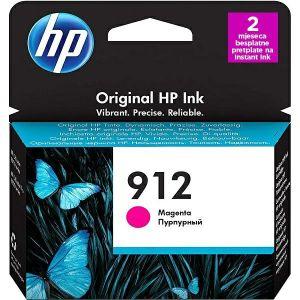 Tinta HP 3YL78AE, No.912, magenta
