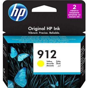Tinta HP 3YL79AE, No.912, yellow