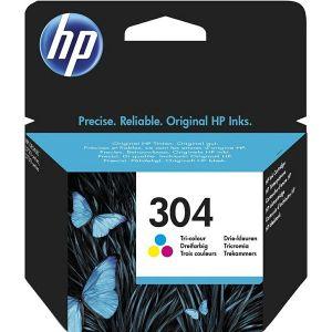 Tinta HP N9K05AE tri-color, No.304 - PROMO