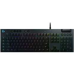 Tipkovnica Logitech G815 LIGHTSPEED RGB, Gaming, Mehanička, Linear Switches