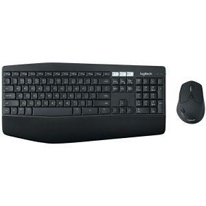 Tipkovnica + miš Logitech MK850, bežični, crni