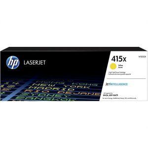 Toner HP 415X Yellow LaserJet Cartridge
