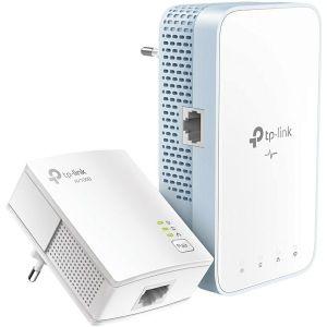 TP-Link AV1000 Powerline bežični mrežni adapter, 300Mbps/433Mbps (2.4GHz/5GHz), 802.11b/g/n/a/n/ac, 2×GLAN (TL-WPA7517 & TL-PA7017)