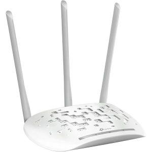 TP-Link bežična pristupna točka (AP) 450Mbps (2.4GHz), 802.11n/g/b, podrška za Pasivni PoE, 1×LAN, AP/Client/Bridge/Repeater, Multi-SSID, 3×fiksne antene