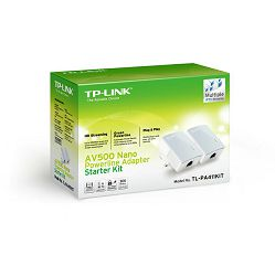 TP-Link, TL-PA4010KIT, Nano Powerline mrežni adapter 600Mbps