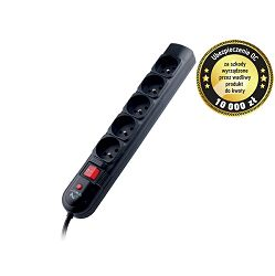 Tracer Surge protector PowerGuard + 3,0m Black